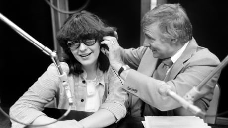 Don Harron and Vicki Gabereau