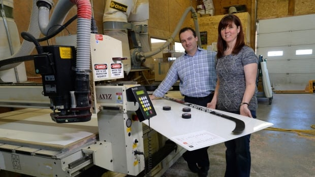 Owners Mark and Carolyn Perry of Plas-Tech Fabrications say the company has yet to see the benefits of lower crude translate into cheaper prices for freight and the petroleum-filled plastic it uses in its products.