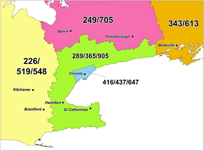 New 548 area code coming to southern Ontario | CBC News Kitchener Canada Map With States Of on map of morristown, nj, map of kitchener waterloo, map ontario canada, map of houston, tx, map of washington, dc, map of orlando, fl, map of boston, ma,