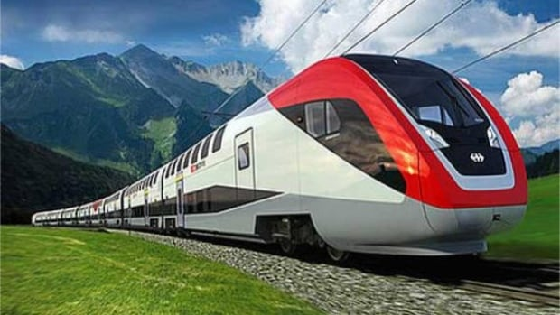 High speed trains are in operation around the world, including this train, made by Swiss company Stadler.