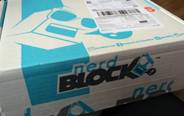 Nerd Block box