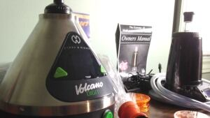 Medical marijuana vaping machine at Marijuana For Trauma Inc.