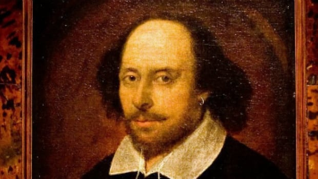 A portrait of William Shakespeare attributed to a little-known artist named John Taylor. (Sang Tan/AP Photo)