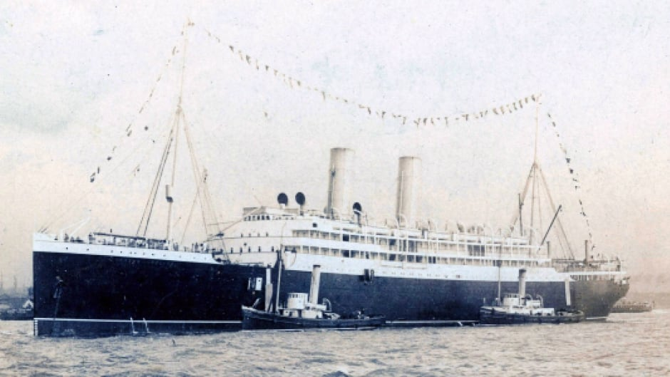 q essay remembering s titanic the empress of the empress of at its launch in an undated photo guy d