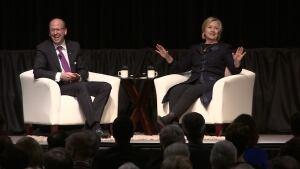 Hillary Clinton does Putin Impression
