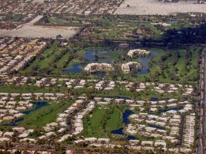 Rancho Mirage aerial