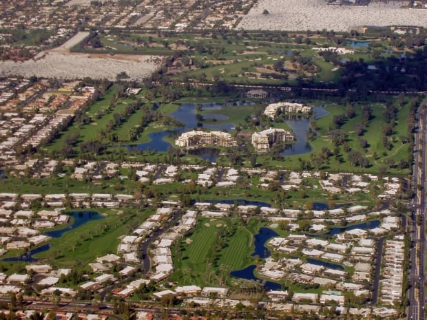 Rancho Mirage aerial