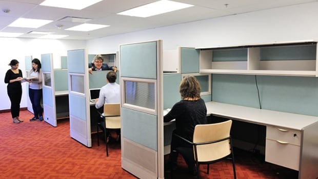 The new Writers' Room at the Toronto Reference Library will feature four workstations that writers can book for three-month blocks of time.