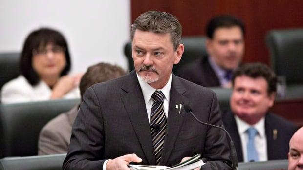 Doug Horner was finance minister under former premier Alison Redford.