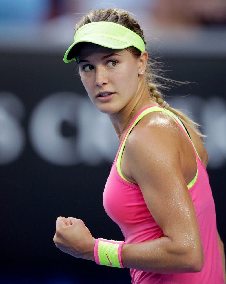 Tennis Superstar Eugenie Bouchard Was Named After Princess -5841