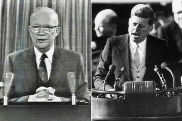 Eisenhower vs JFK