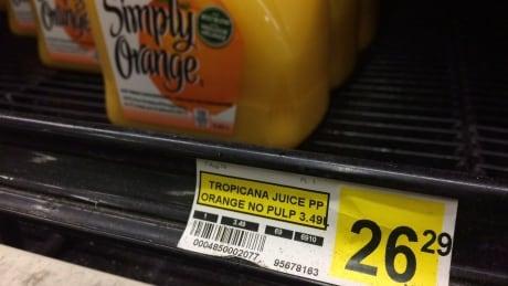 Nunavut Hunger orange juice