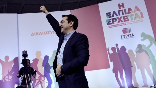 Alexis Tsipras, head of Greece's Syriza Party, seems poised to become the next prime minister.