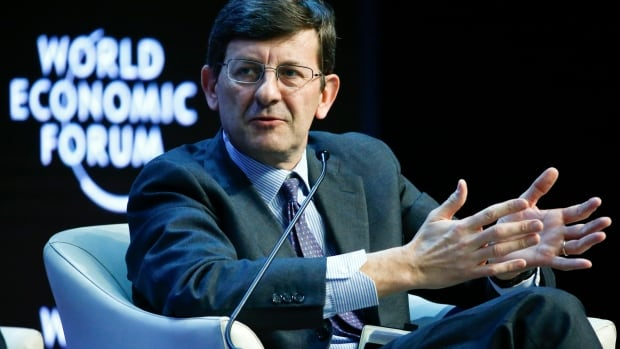 Vittorio Colao, CEO of Vodafone Group, speaking at the World Economic Forum in Davos, said there is a temptation toward fragmenting the internet through government regulation.