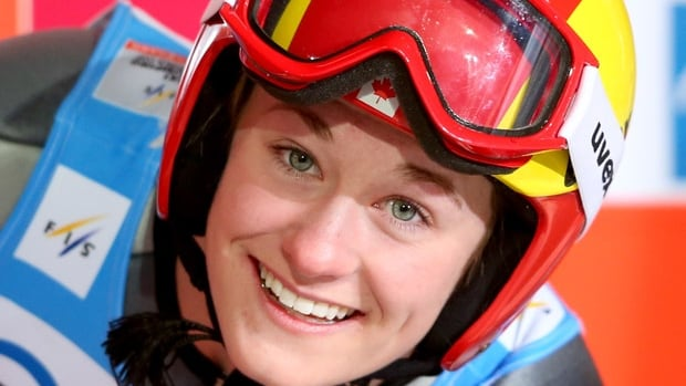 Taylor Hendrich became the first Canadian woman to land on a World Cup ski jumping podium by finishing third in Oberstdorf, Germany on Sunday.