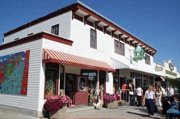 MacKay's ice cream shop in Cochrane