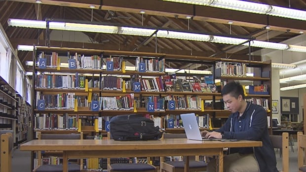 Calvin Liang, 15, has developed an app for students and teachers at Kitsilano Secondary School