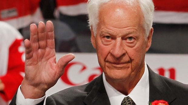 Gordie Howe is showing dramatic improvements after suffering two strokes in 2014.