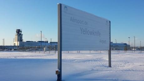 Yellowknife airport January 2015