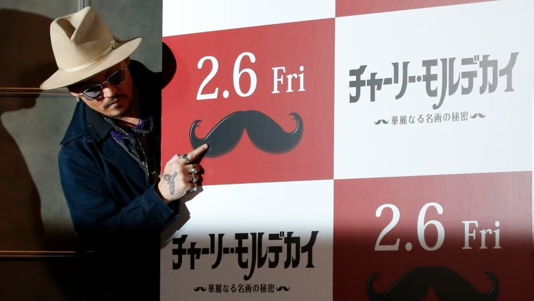 Johnny Depp attacked by a 'chupacabra' in Japan, claims Mortdecai actor