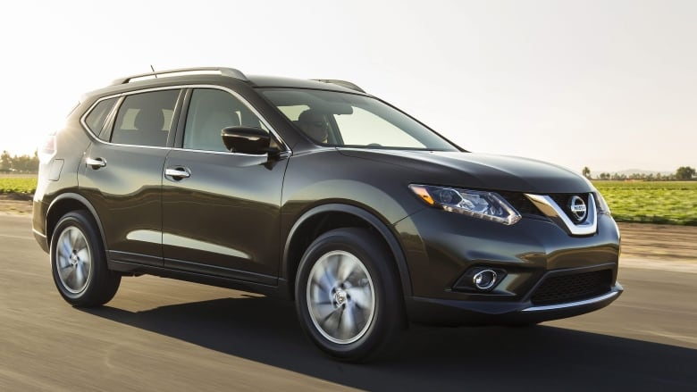 the 2008 to 2013 model year nissan rogue small suv model is one of the  nissan models affected by a voluntary safety recall  (nissan/associated  press)
