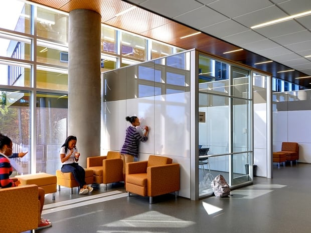 A DIRTT Environmental Solutions commerical interior
