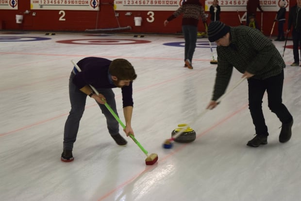 Hipster Curling