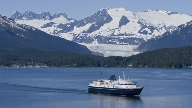 The MV Malaspina departs from Juneau. Alaska's 2017 budget had special language specifying the marine highway's funding would be cut if the supplemental budget needed more than $100 million — and that happened.