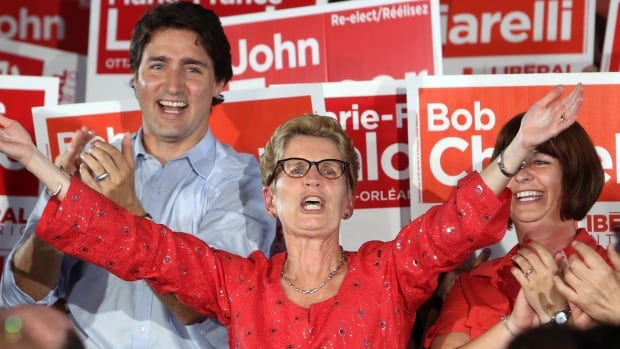 Kathleen Wynne is trying to help Justin Trudeau win the federal election. But Trudeau may have more to lose than to gain from her involvement.