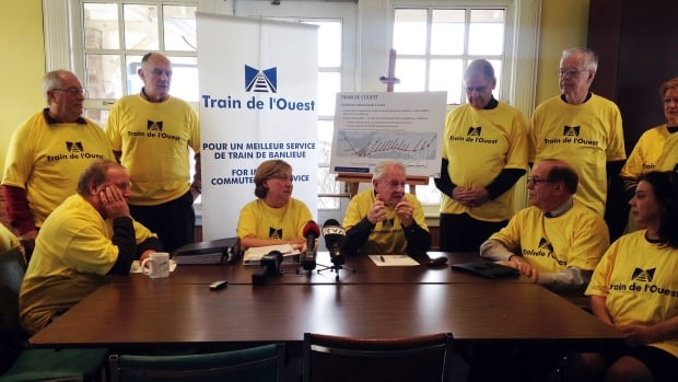 The Coalition for a Train de l'Ouest are pleased with the news that the government has made a commuter train to the West Island a priority.