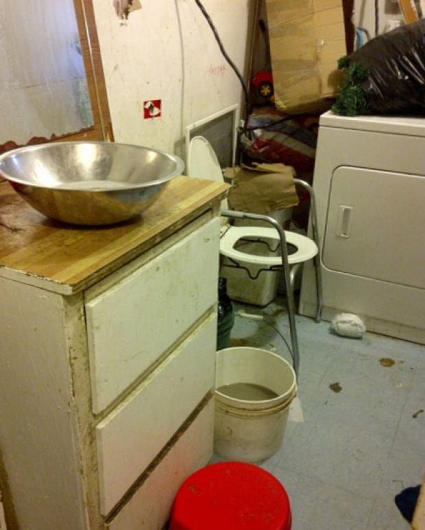 Washroom in Wasagamack