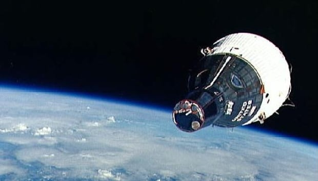 Gemini 6 in orbit