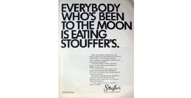 Stouffer's Moon Ad
