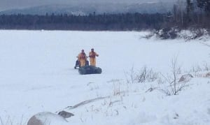 Search and rescue crews Deer Lake