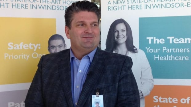 David Musyj, the CEO of Windsor Regional Hospital, says deal for mega-hospital site will go ahead.