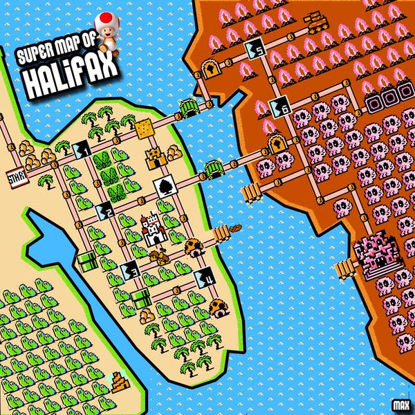 Super Mario Bros 3 Reimagined For Halifax And Dartmouth Cbc News