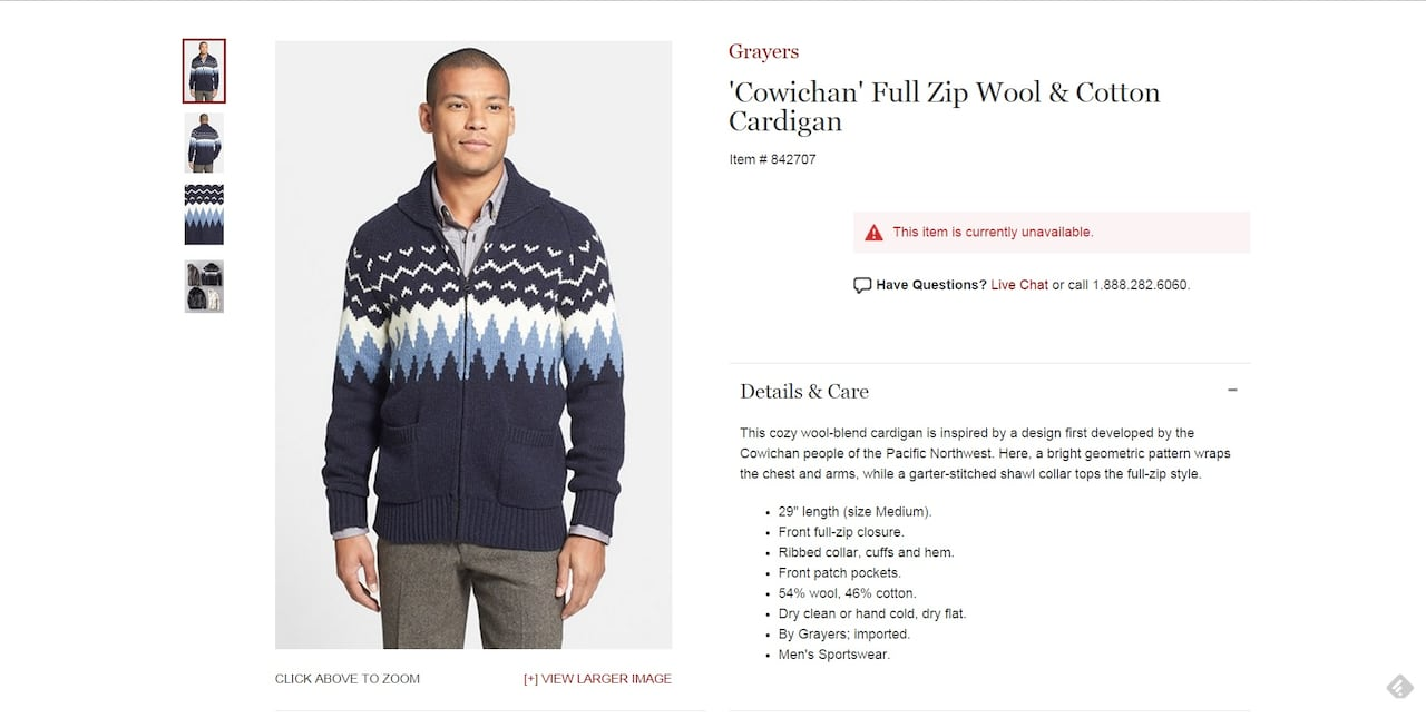 5ce6bf18 Nordstrom removes Cowichan name from sweaters | CBC News