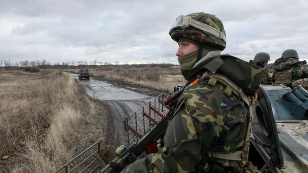 Analysts say that the Ukraine army would be outgunned in a direct clash with the Russian military.
