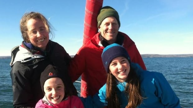 At a presentation in Thunder Bay on Monday, Katya and Mark Gordon and their daughters Lamar and Cedar will share their story of going on sailing adventures and studying climate change.