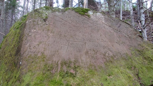 The province has designated a petroglyph in Bonshaw as an official Heritage Place.