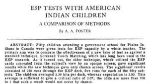 Znalezione obrazy dla zapytania parapsychology government experiments