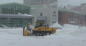 Saint John snow clearing