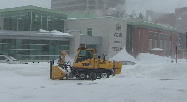 Saint John snow clearing