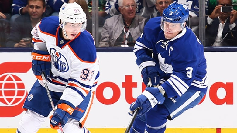 Hockey Night In Canada Oilers Vs Maple Leafs Cbc Sports