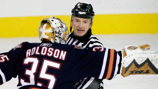 NHL referee Tim Peel reportedly was barred one game last week after Yahoo Sports blogger Greg Wyshynski tweeted a photo of he and Peel holding a shot of tequila during a candid meeting at a New York City bar the previous night.