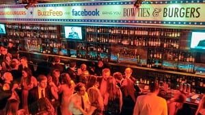 BuzzFeed and Facebook Host Bowties & Burgers During 2014 White H