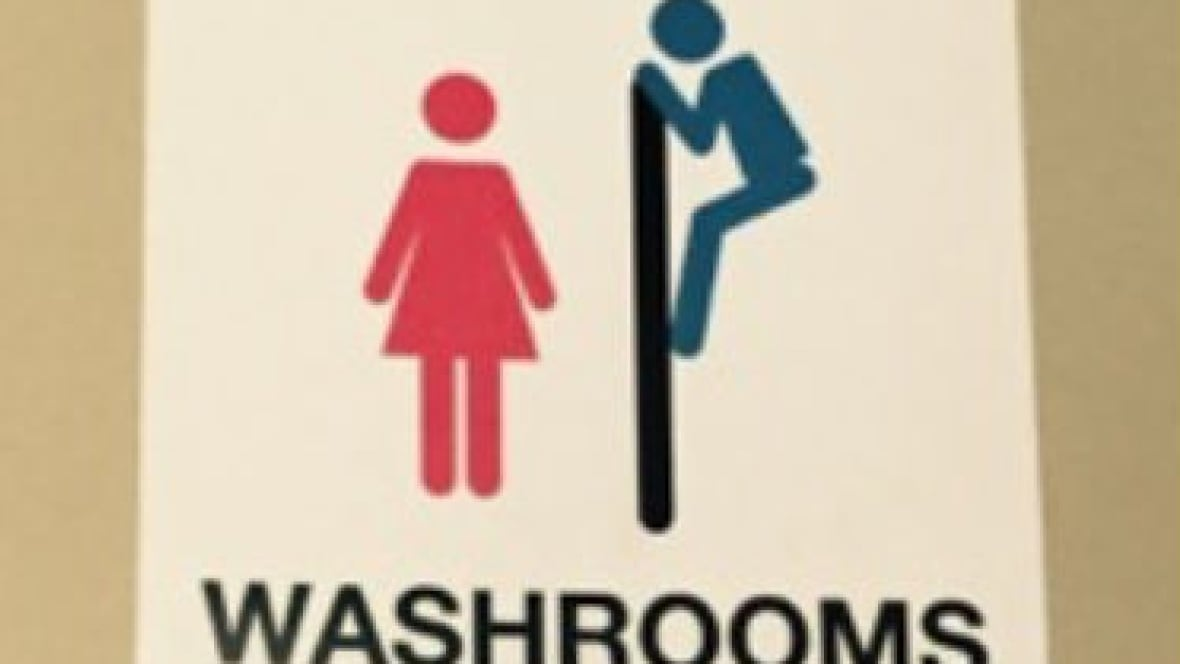 Bathroom Signs Canada saskatoon bar removes offensive bathroom signs after woman's