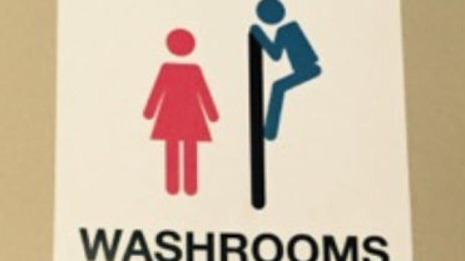 Brilliant Saskatoon Bar Removes Offensive Bathroom Signs After Womans Download Free Architecture Designs Xaembritishbridgeorg