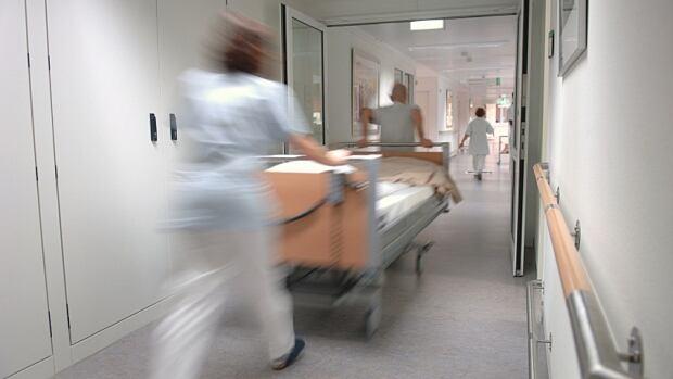 Hospital blur