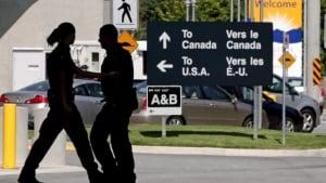 U.S.- B.C. border